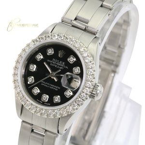 Rolex Lady Datejust Black Diamond 26mm Watch